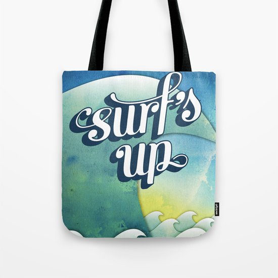 Surf's Up Tote Bag