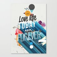 Everything Forever Canvas Print