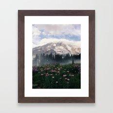 Mt Rainier Framed Art Print