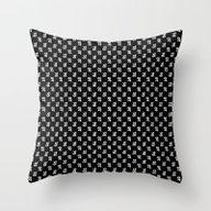 Jupiter Noir Pattern Throw Pillow