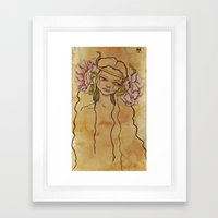 Titania Framed Art Print