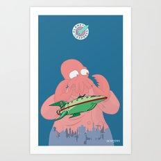Why Not Zoidberg? Art Print