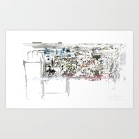 Art Print featuring take a breath [ABSTRACT]  by David Nuh Omar