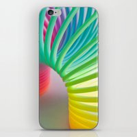 Rainbow Spring iPhone & iPod Skin