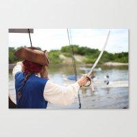 Pirate Series - Hats #1 Canvas Print