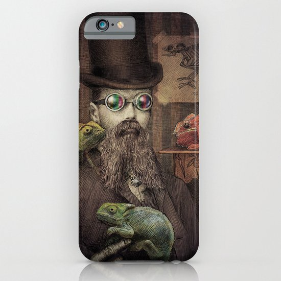 The Chameleon Collector iPhone & iPod Case