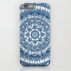 Blue Mandala Pattern iPhone 6 Slim Case