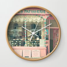 Sweet Cafe Wall Clock