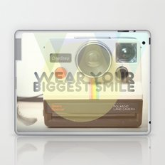 WEAR YOUR BIGGEST SMILE Laptop & iPad Skin