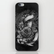 Peony And Succulents iPhone & iPod Skin