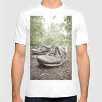 Shoes For A Decade, Not … Mens Fitted Tee White SMALL