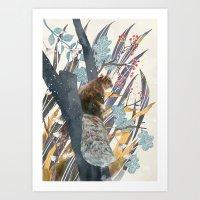 Waiting For Autumn Art Print
