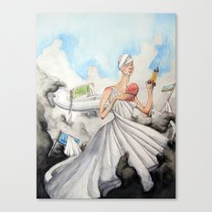 The Alluring Annoyance of...Renewal Canvas Print