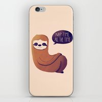 Nap Time All The Time iPhone & iPod Skin