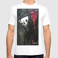 Dark Romantic Mens Fitted Tee SMALL White