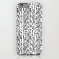 Knit Outline iPhone 6 Slim Case
