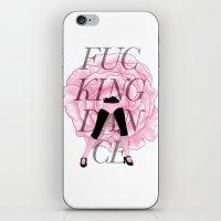 F**CKING DANCE iPhone & iPod Skin