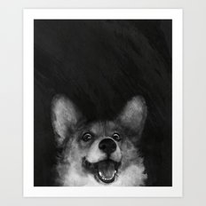 Sausage Fox Art Print