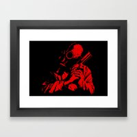 Red Dawn Framed Art Print