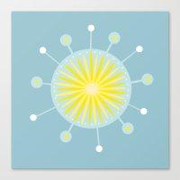 Radiolarian 8 Canvas Print