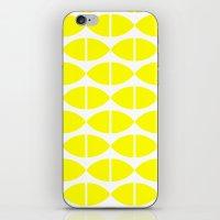 Lemons Pattern iPhone & iPod Skin