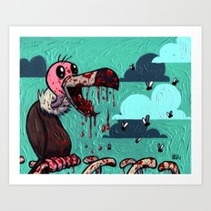 I ate your guts! Art Print