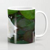 White Rose With Natural … Mug