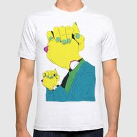 Knuckle Head III - Gary Mens Fitted Tee Ash Grey SMALL