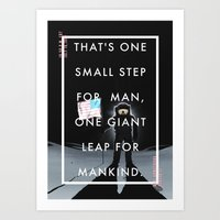 One Small Step Art Print