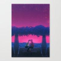 Beijo Canvas Print