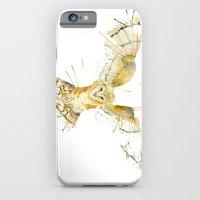 iPhone & iPod Case featuring My Barn Owl by Meg Ashford