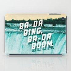 Ba-da Bing, Ba-da Boom. iPad Case