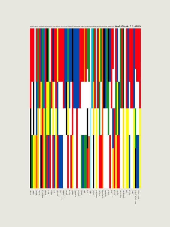 National Colors Art Print