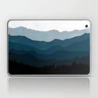 Mists No. 6 - Ombre Blue… Laptop & iPad Skin