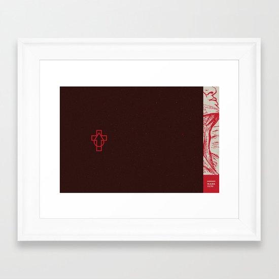 Why  Have You Forsaken Me (by Scott Allen Hill) Framed Art Print