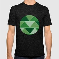 The Emerald City Mens Fitted Tee Tri-Black SMALL