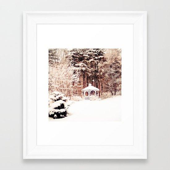 SnowEnchanted Framed Art Print