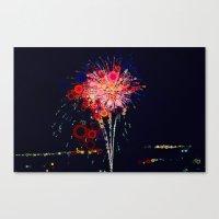 Fireworks! Canvas Print