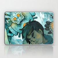 Aztec Gundam Laptop & iPad Skin
