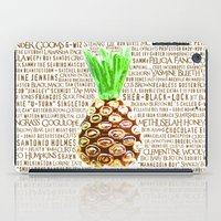 Psych Revamped! Complete List of Gus Nicknames!  iPad Case
