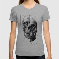 Dazed & Confused Womens Fitted Tee Athletic Grey SMALL