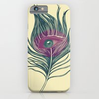 Feather in my eye iPhone 6 Slim Case