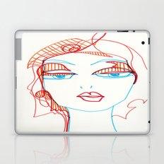 girl sketch Laptop & iPad Skin