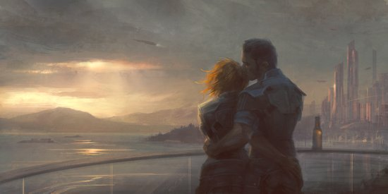 Mass Effect - English Bay Art Print