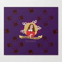 Veruca Salt - Pattern Canvas Print