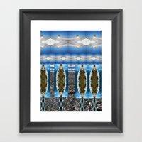 Mt. Hermon Framed Art Print