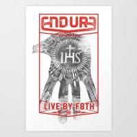 ENDURE IHS Art Print