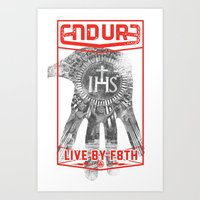 ENDURE IHS Art Print