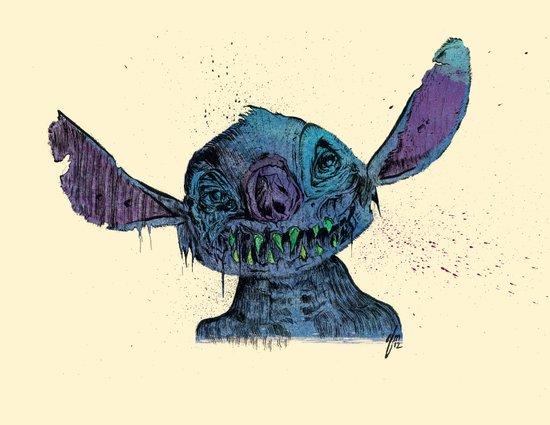 Zombie Stitch Canvas Print