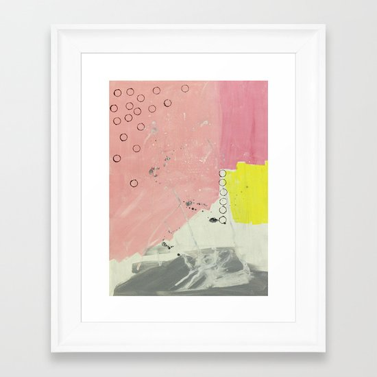 Abstract painting 2 Framed Art Print